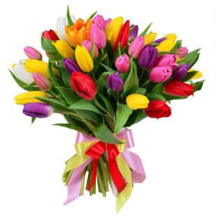 Букет «Краски весны»